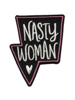 BADGE BOMB NASTY WOMAN PATCH