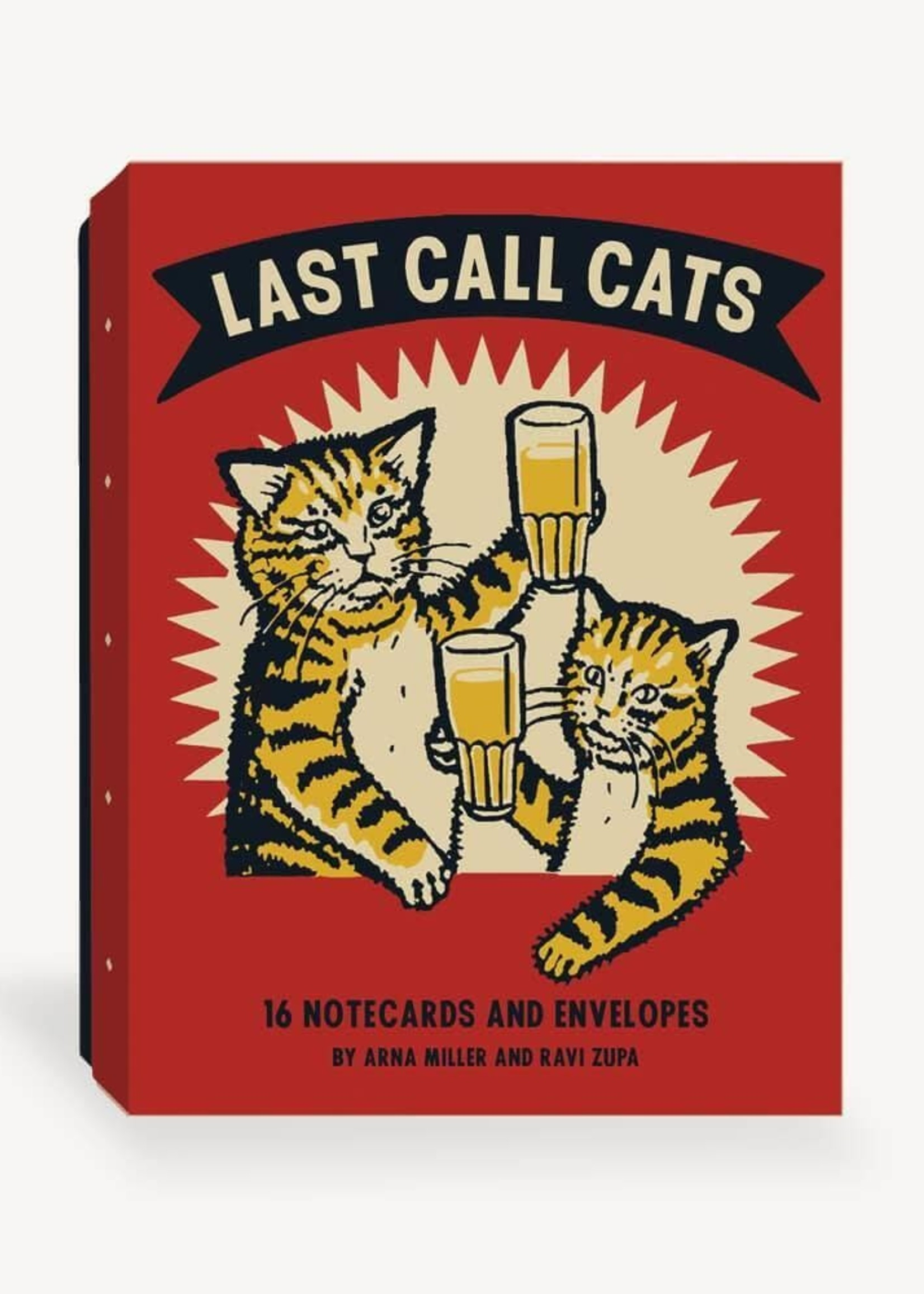 CHRONICLE BOOKS LAST CALL CATS PLAYING CARDS