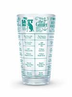 FRED & FRIENDS FRED GOOD MEASURE- GIN RECIPE GLASS