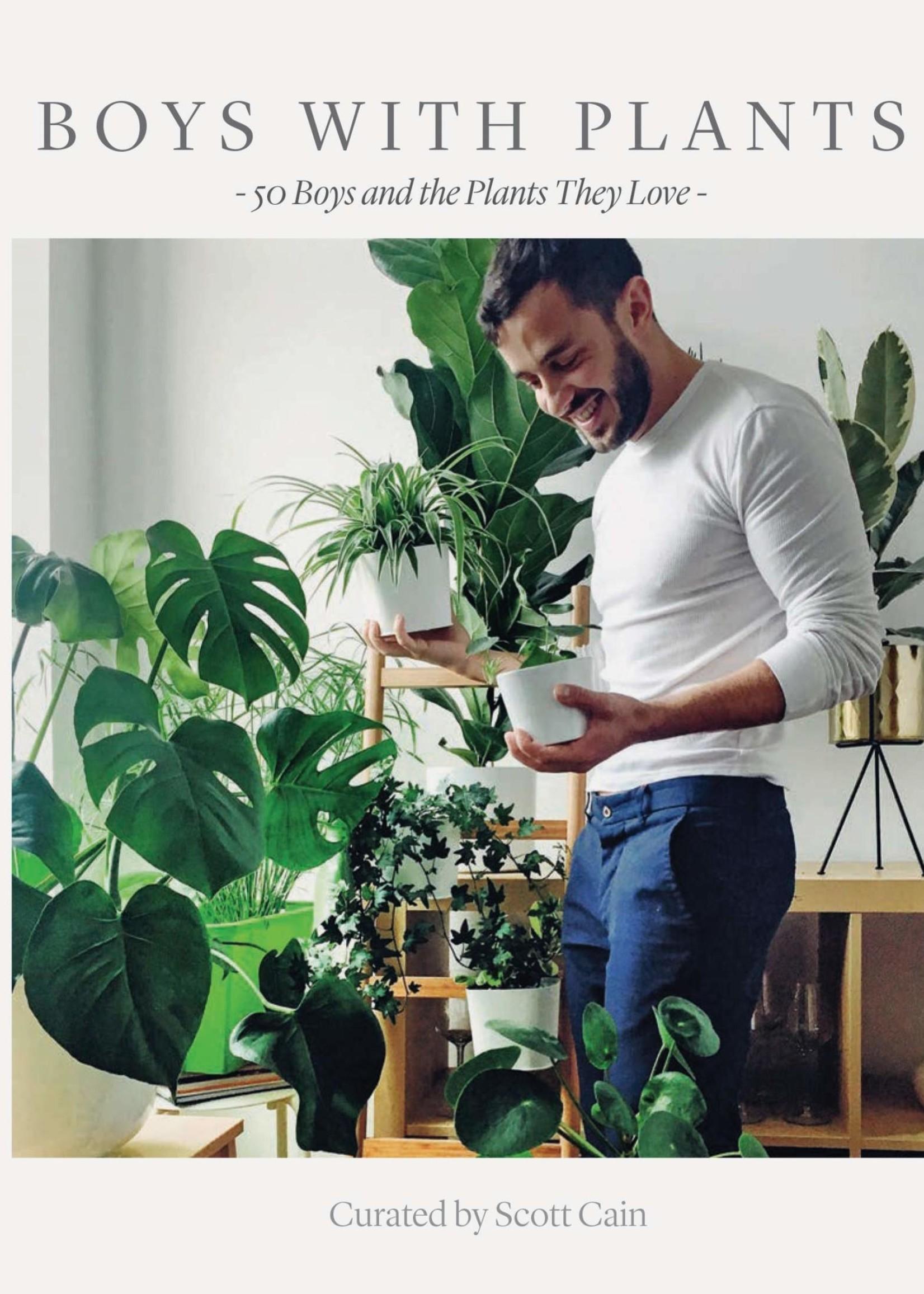 HACHETTE BOYS WITH PLANTS BOOK