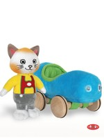 YOTTOY YOTTOY HUCKLE CAT WITH CAR
