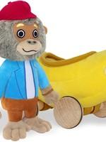 YOTTOY YOTTOY BANANAS GORILLA WITH CAR