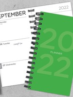 TF PUBLISHING TF LIME GREEN 2022 PLANNER-SM