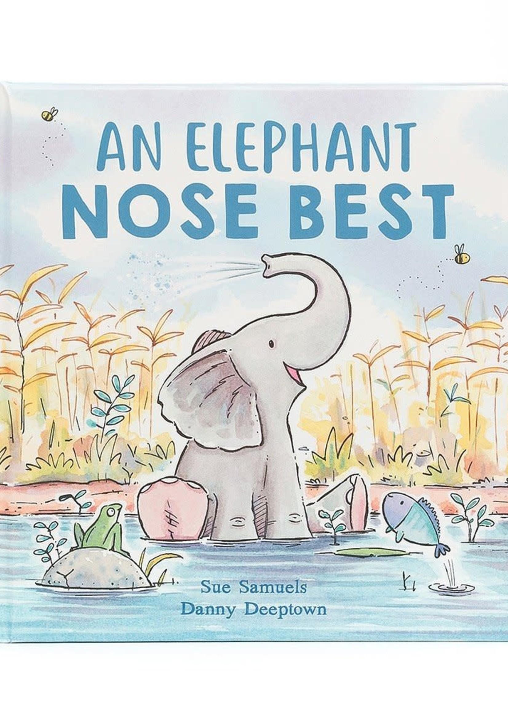 JELLY CAT JELLYCAT AN ELEPHANT NOSE BEST BOOK