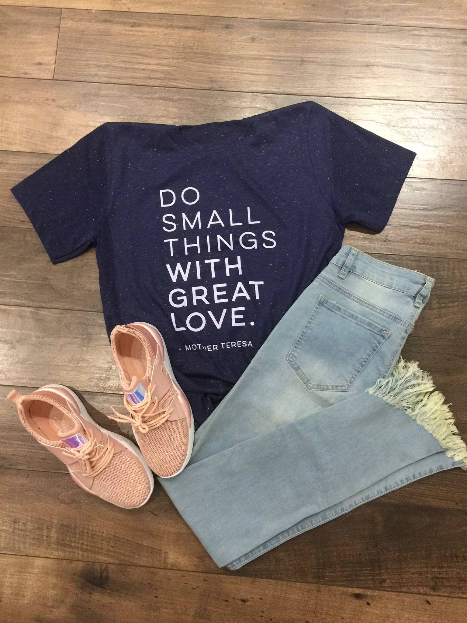 Ruby's Rubbish Do Small Things Tee