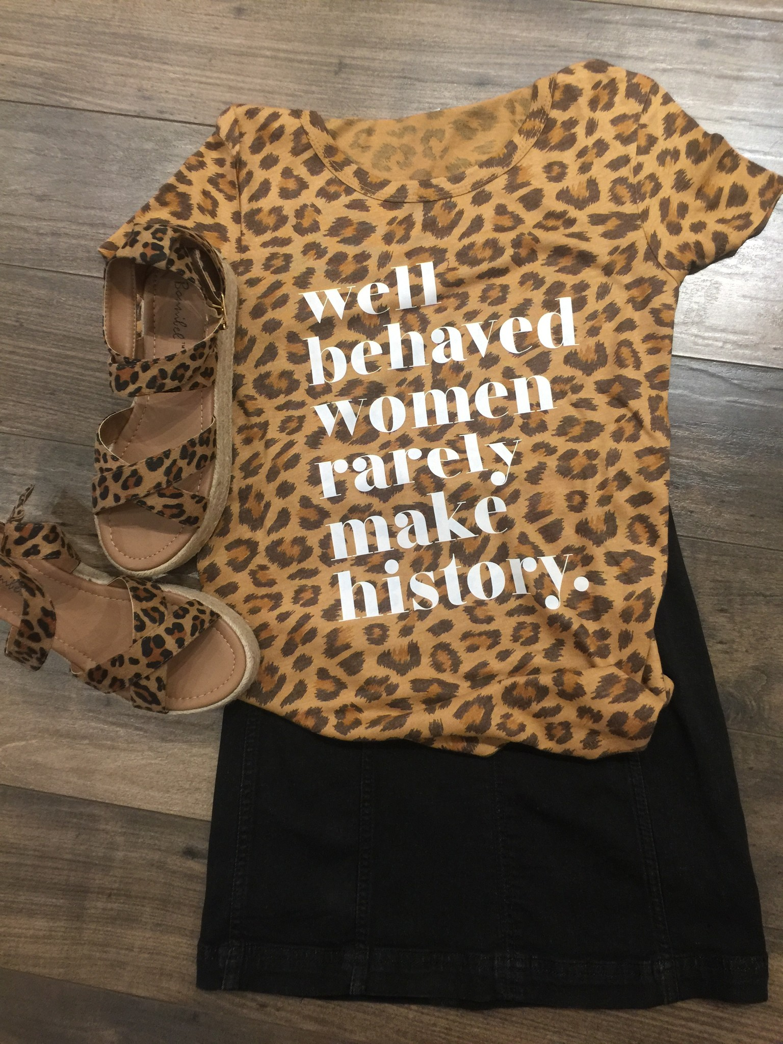 Ruby's Rubbish Well Behaved Women Tee
