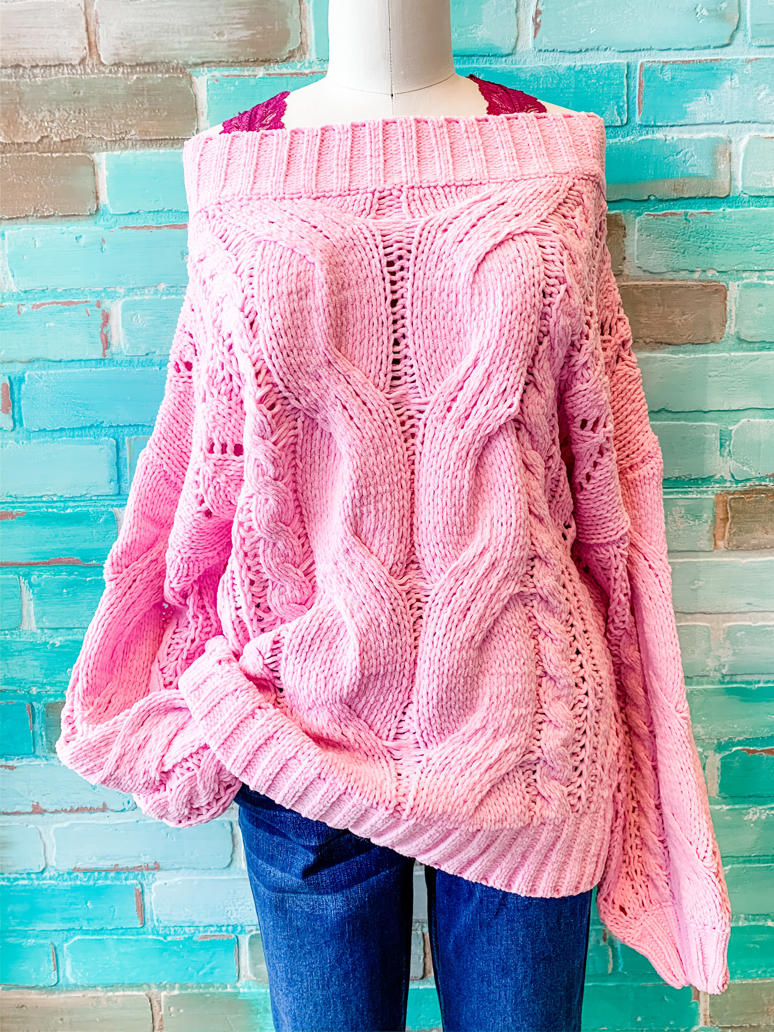 Envy Label You've Got Me Sweater