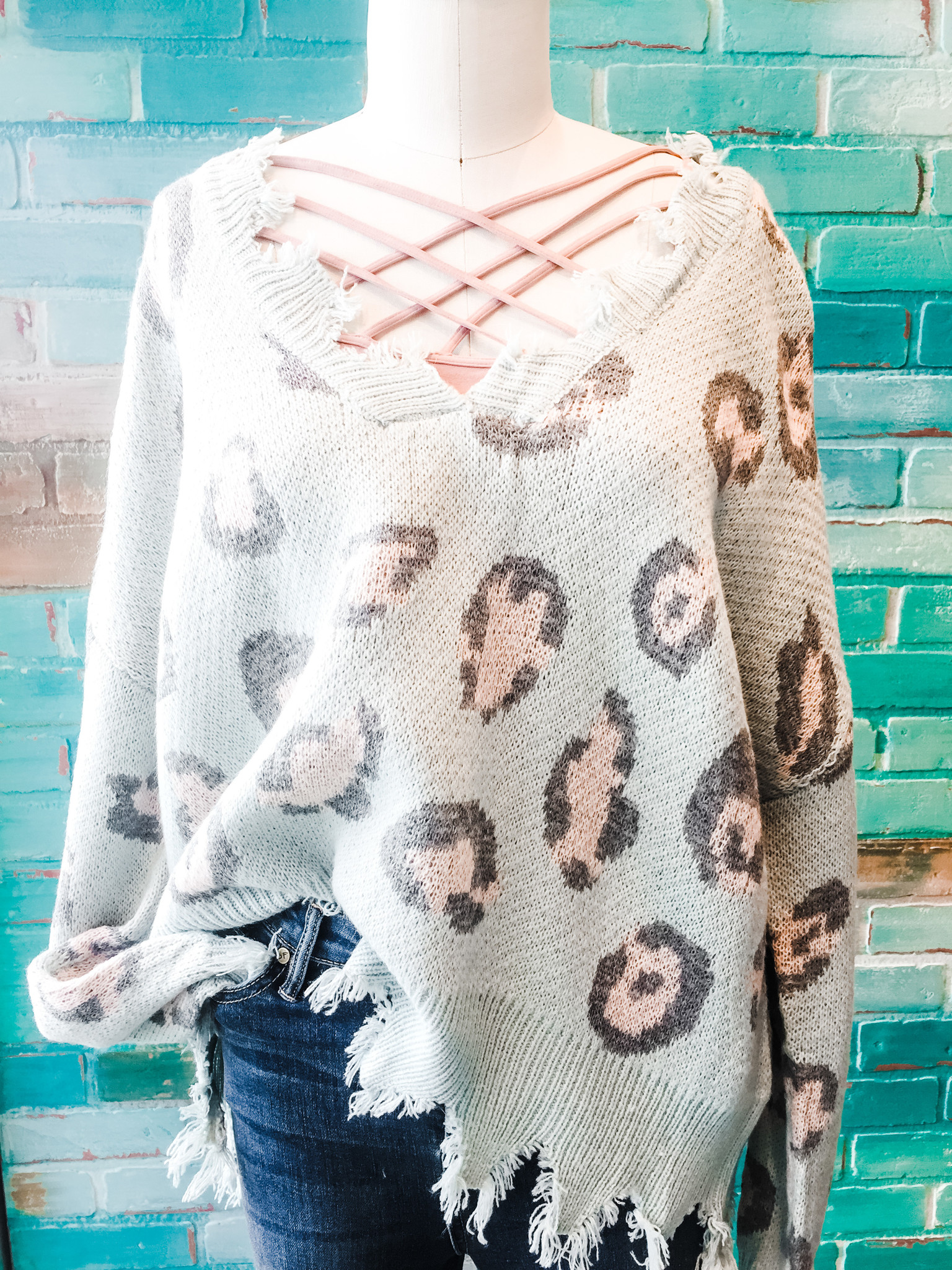 Envy Label Spot Perfection Sweater