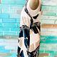 Envy Label Waving Palms Dress