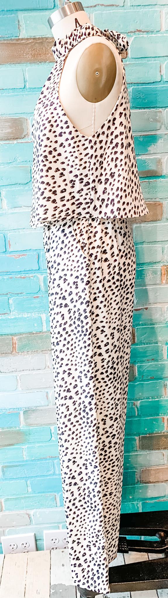 Envy Label Dotty  Jumpsuit