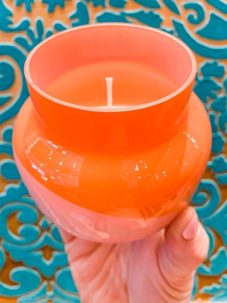 Capri Blue Volcano Dual Tone Petite Candle