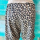 Envy Label Leopard Terry Shorts