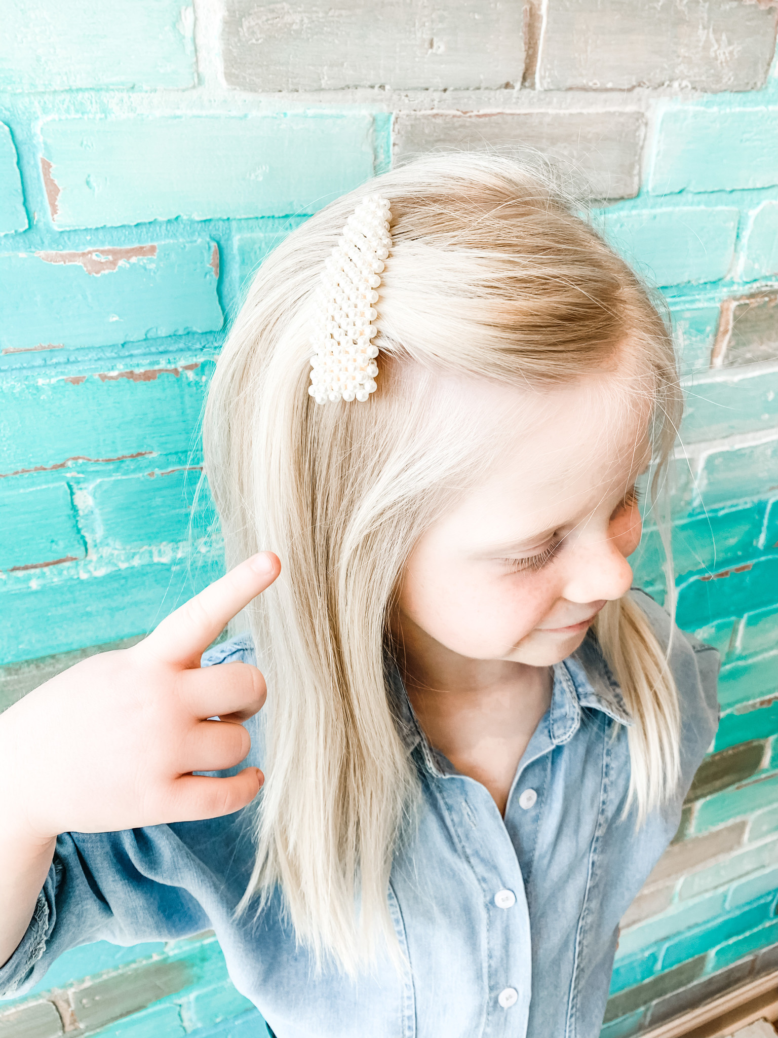 Envy Label Pearly Things Hair Clip
