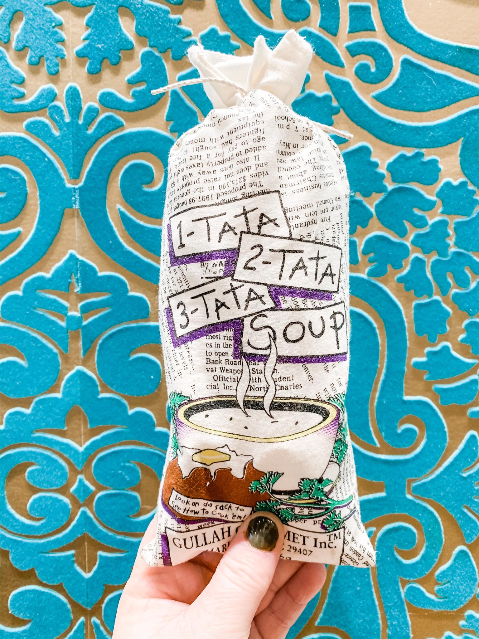 Gullah Gourmet 1-Tata, 2-Tata, 3-Tata Soup