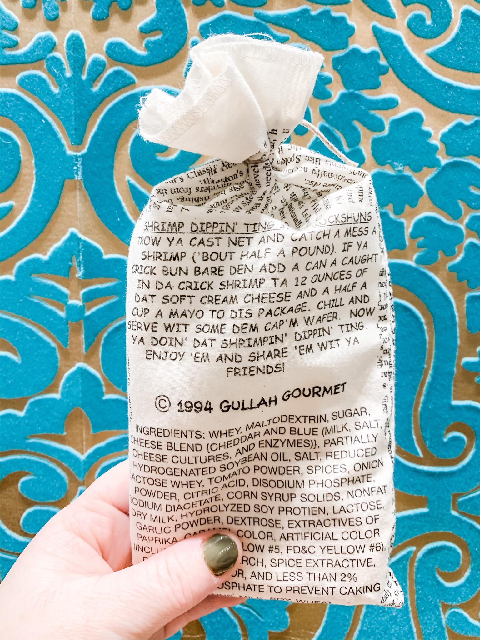 Gullah Gourmet Shrimp Dippin' 'Ting