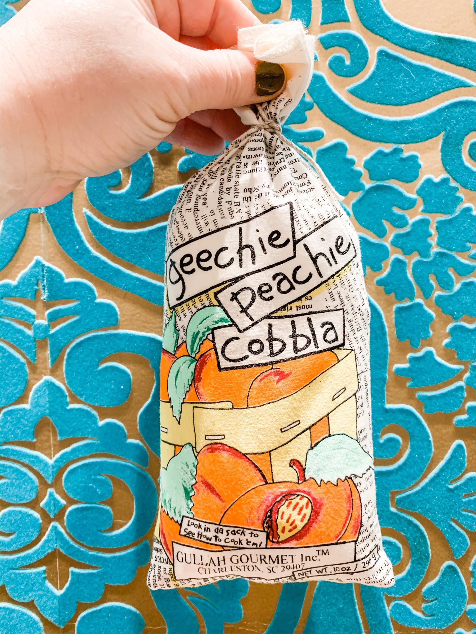 Gullah Gourmet Geechie Peachie Cobbla