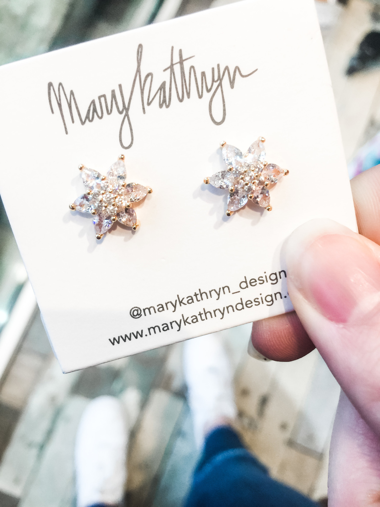 Mary Kathryn Designs Blooming Sparkles Earring