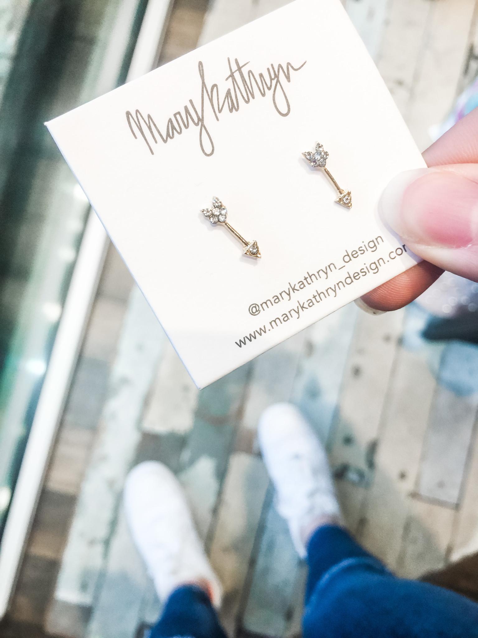 Mary Kathryn Designs Shooting Arrows Earring