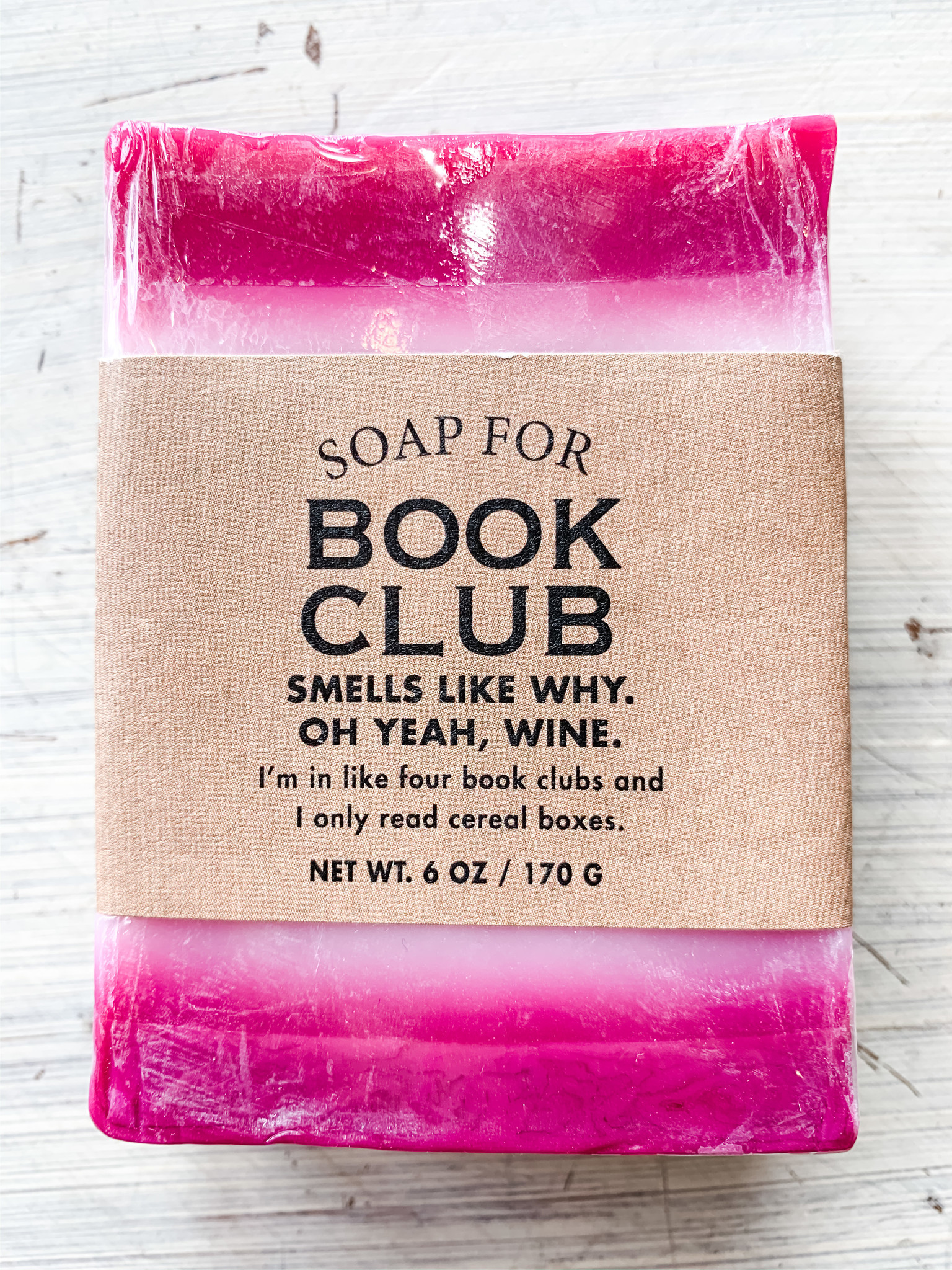 Whiskey River Soap Company Whiskey River Soap Book Club