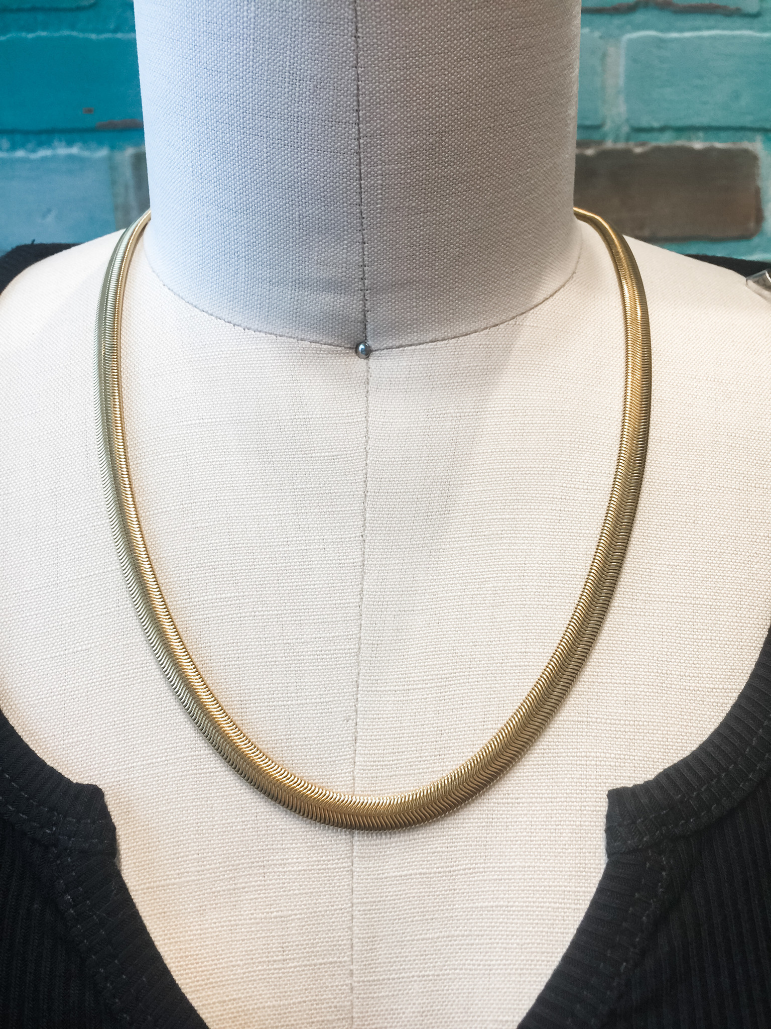 Mary Kathryn Designs Menswear Necklace Snake Chain
