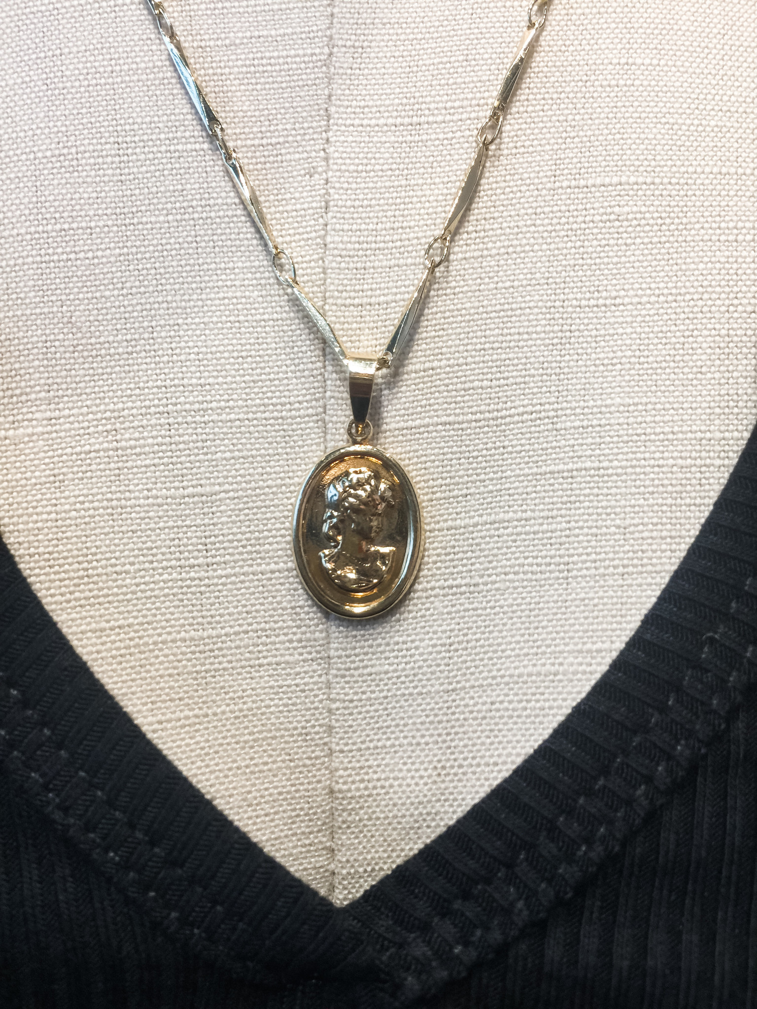 Mary Kathryn Designs Cameo Necklace