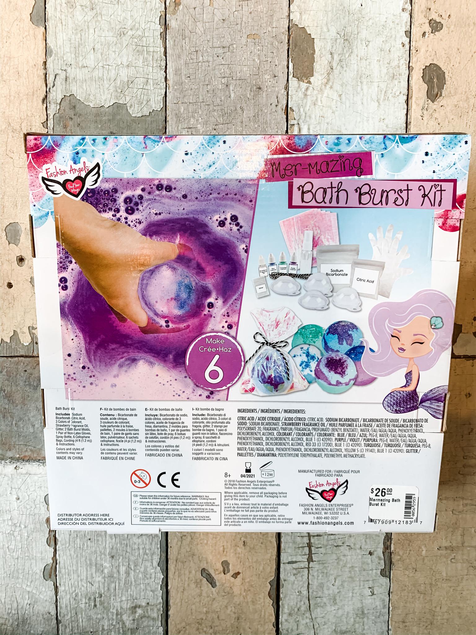 Fashion Angels Mermazing Bath Burst Kit