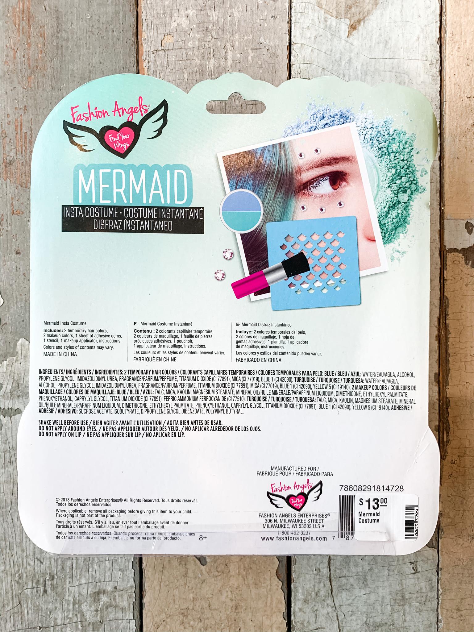Fashion Angels Mermaid Costume