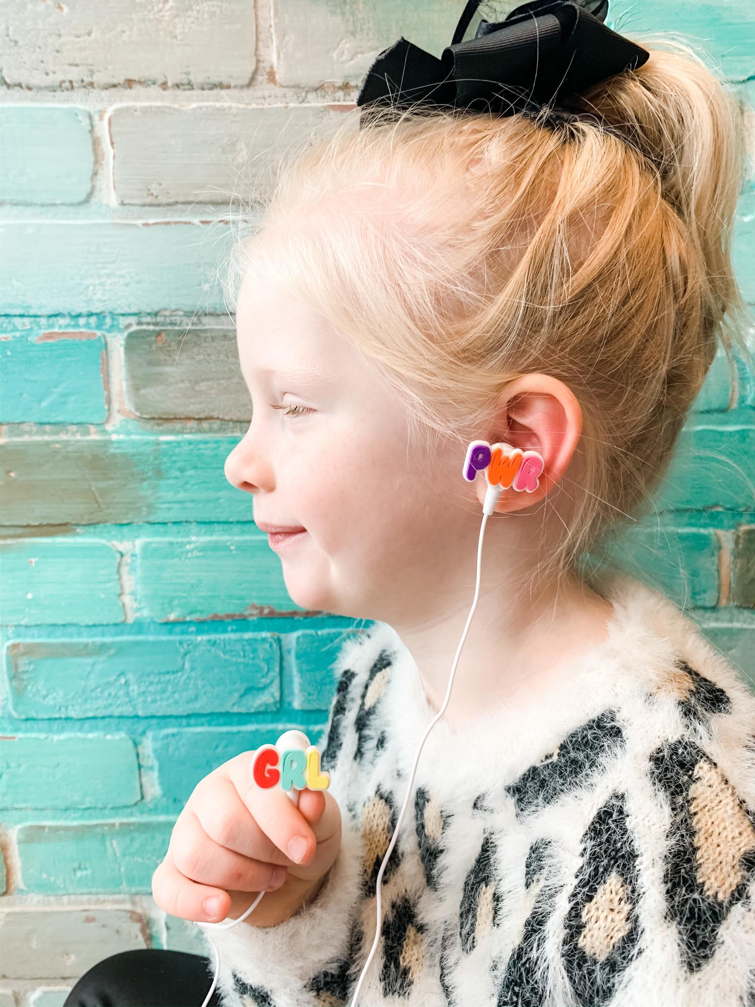 Cupcakes & Cartwheels GRL PWR Earbuds
