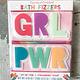 Cupcakes & Cartwheels GRL PWR Bath Fizzers