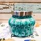 Capri Blue Volcano Watercolor Petite Jar