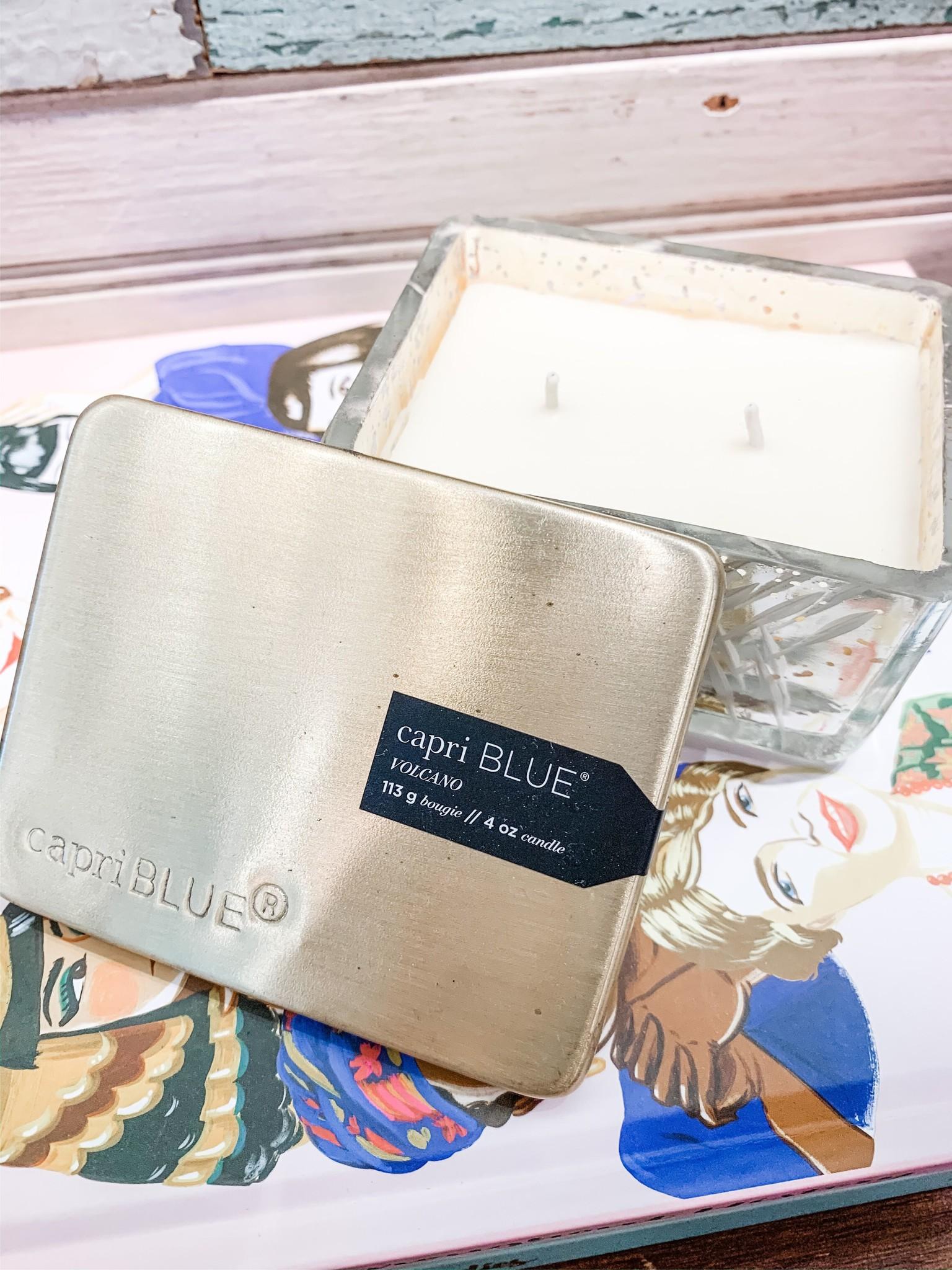 Capri Blue Volcano Mercury Jewel Box