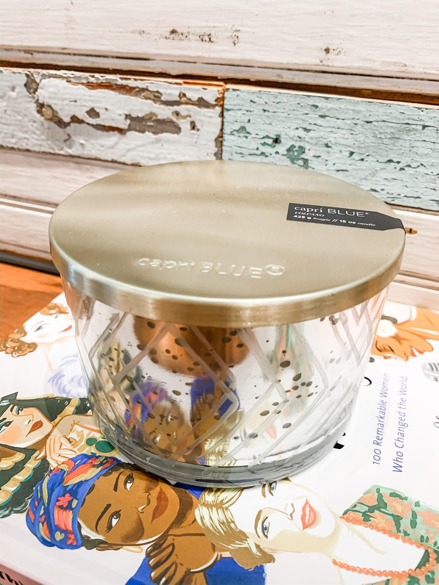 Capri Blue Volcano Mercury Candle Bowl