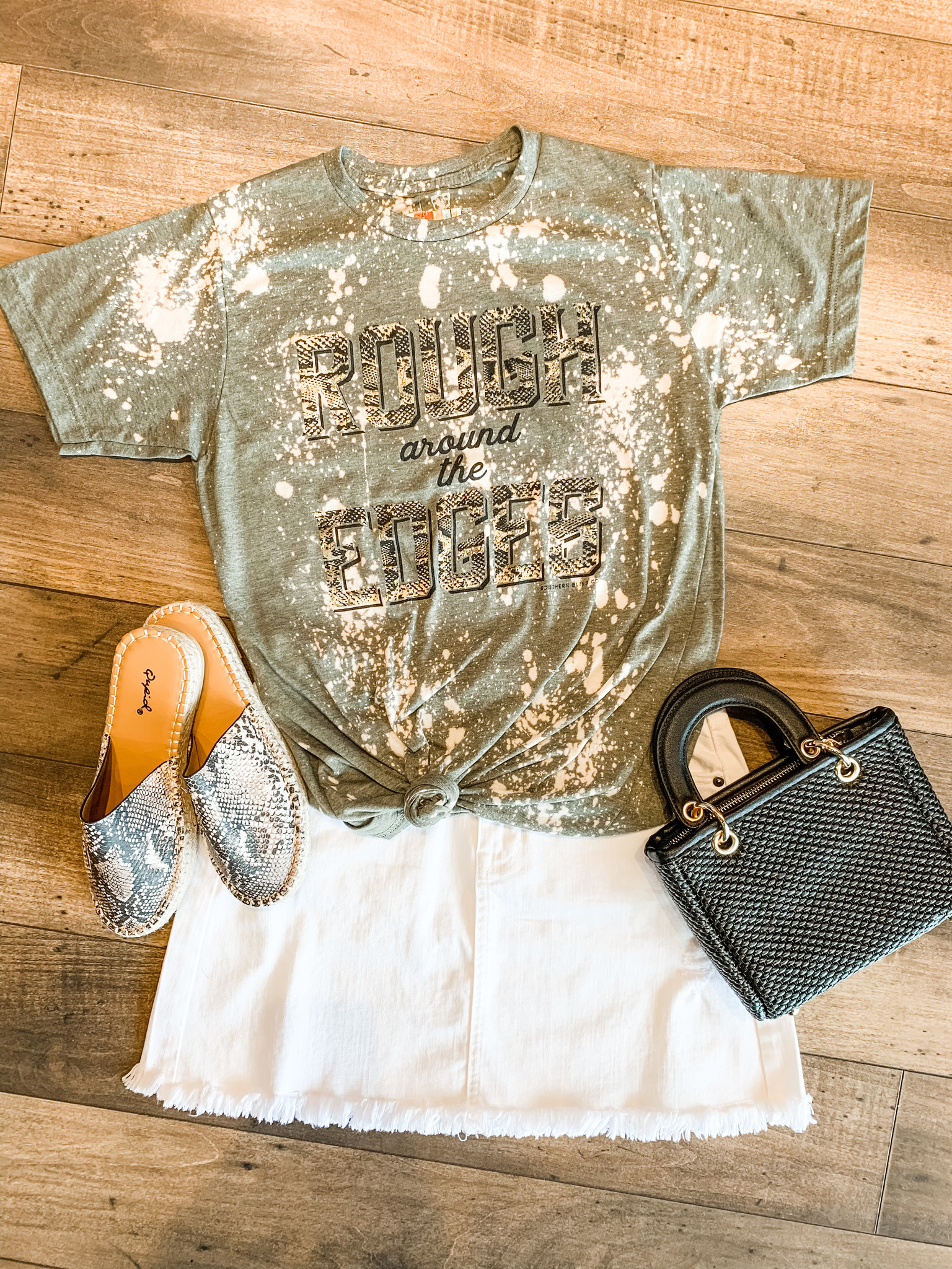 Southern Bliss Rough Around The Edges Tee