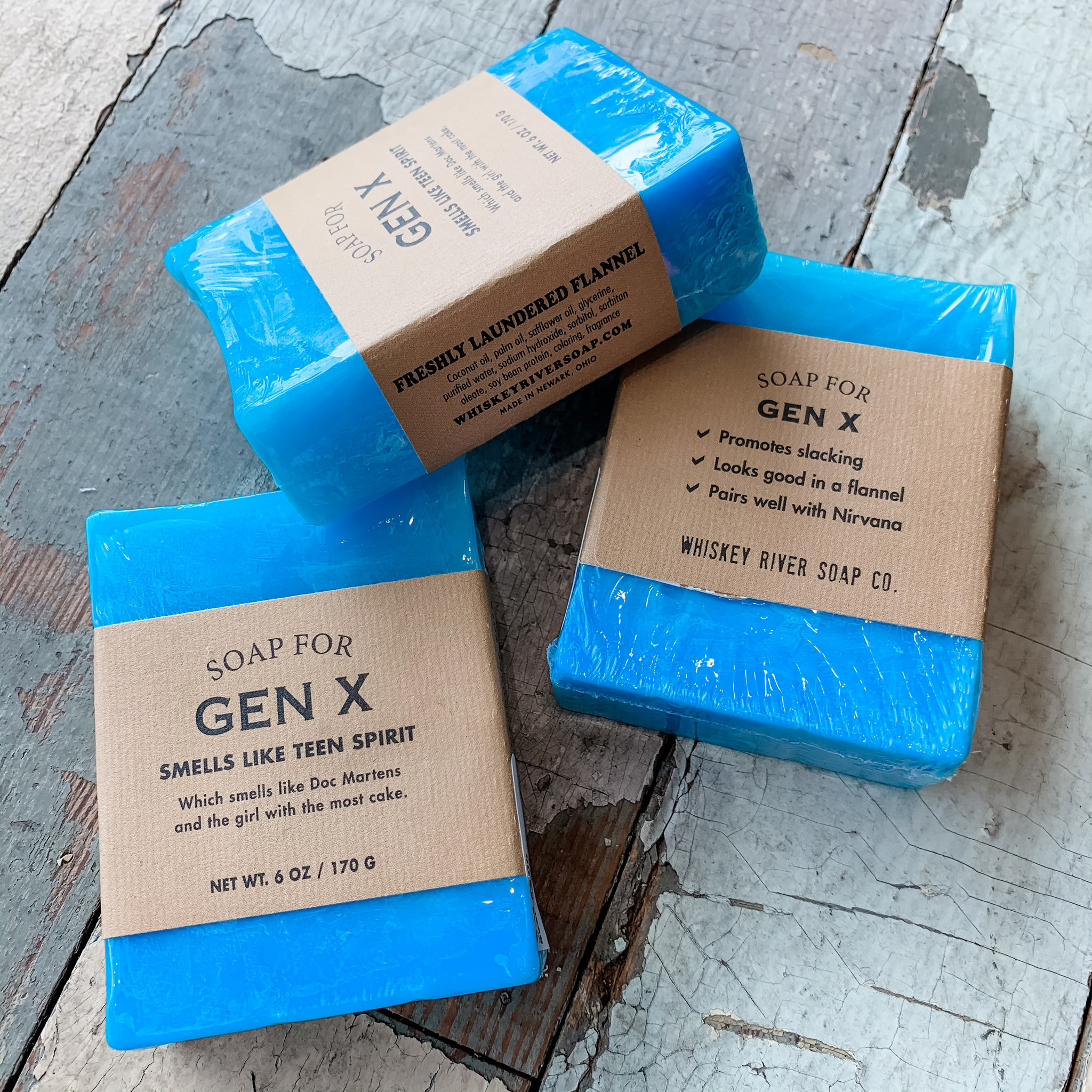 Whiskey River Soap Company Whiskey River Soap Gen X