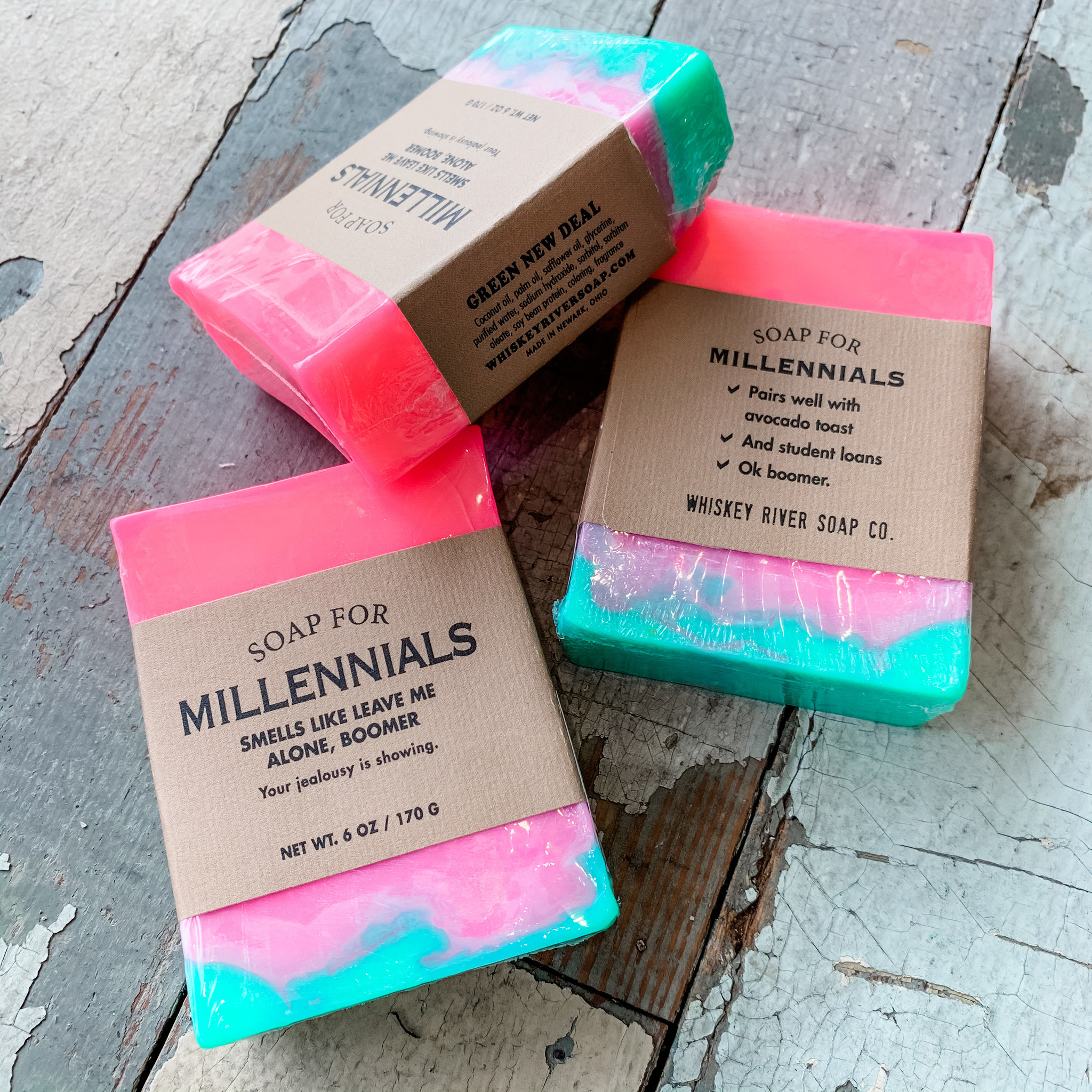 Whiskey River Soap Company Whiskey River Soap Millennials