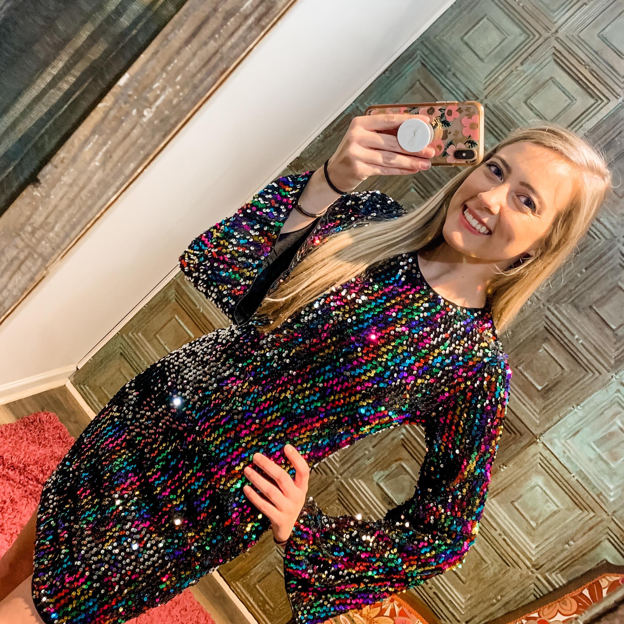 Envy Label Disco Lights Dress