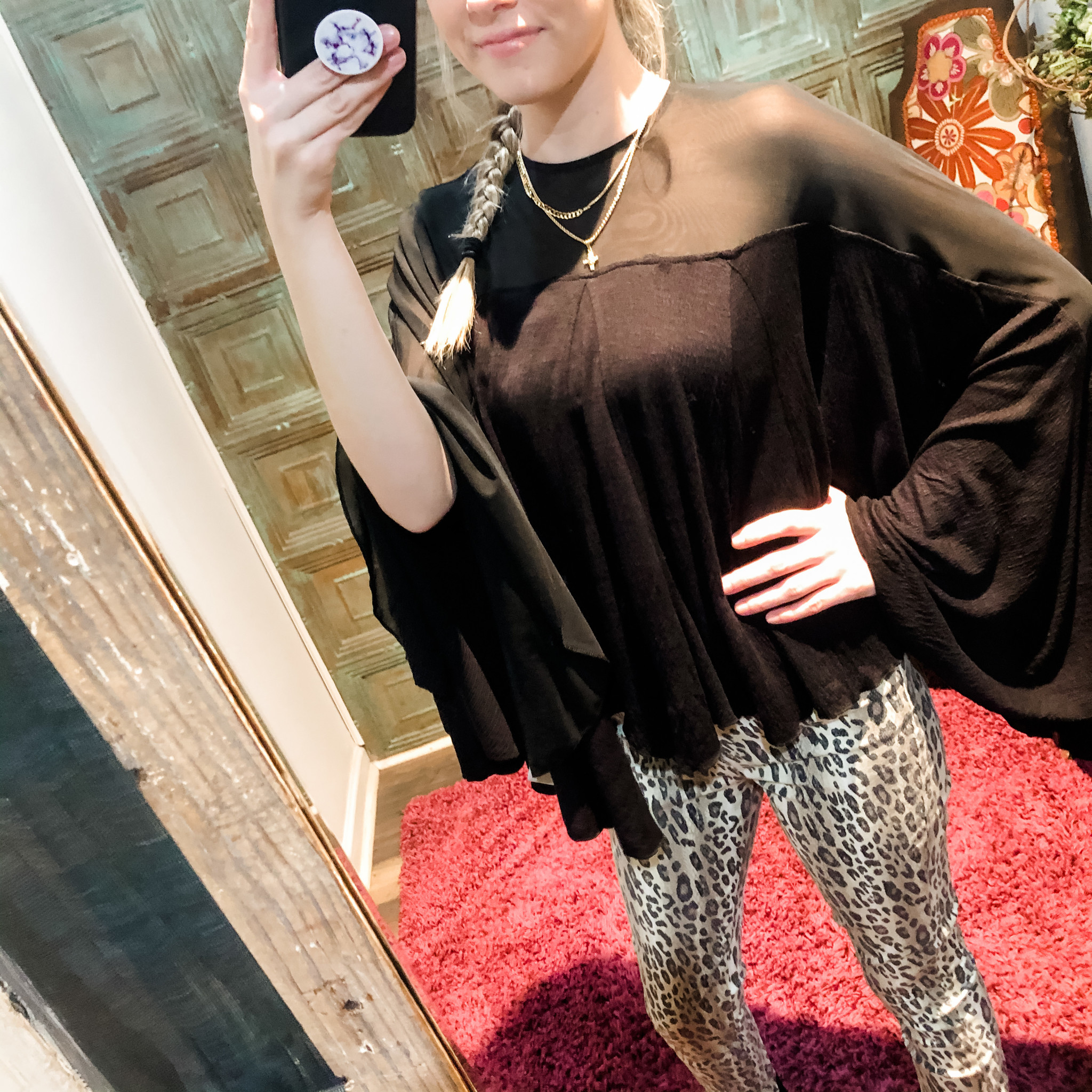 free people On The Weekend Blouse