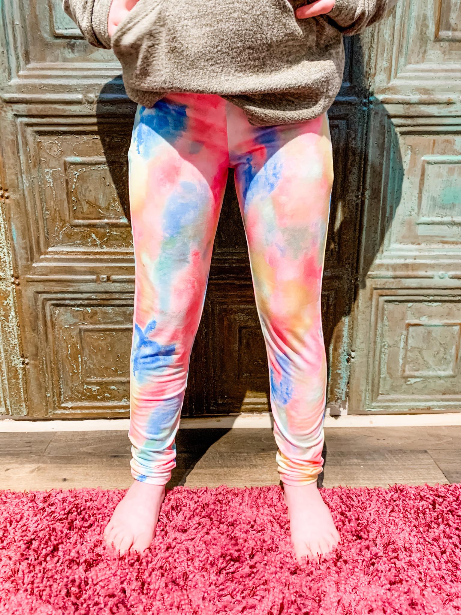 Work It Out With Haddie Mac Rainbow Tween Legging