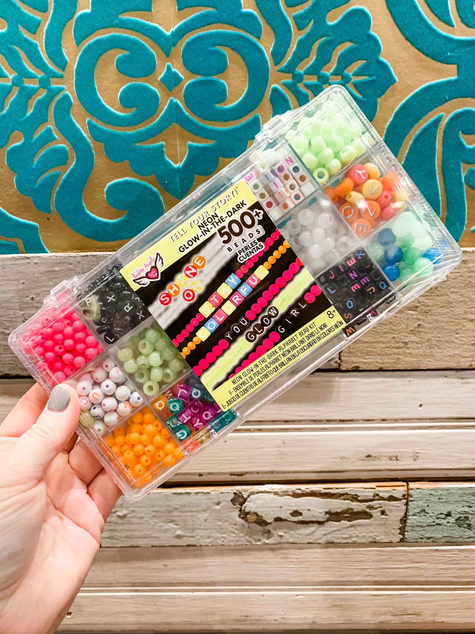 Fashion Angels Tell Your Story Bead Case Set