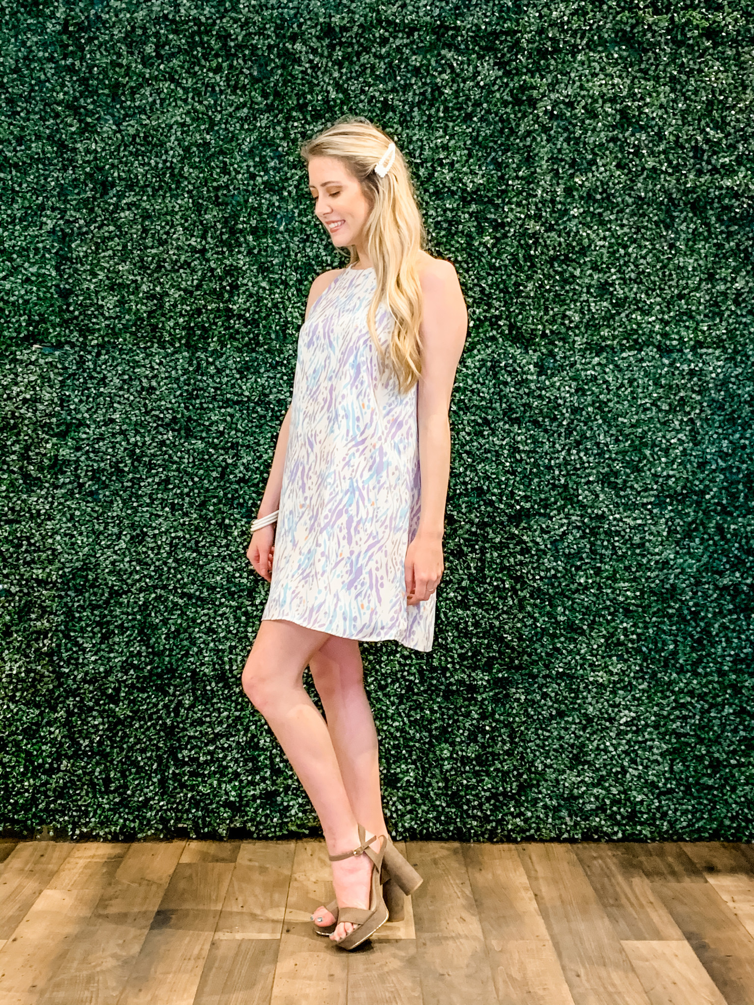 You Had Me At Hello Meadow Shift Dress