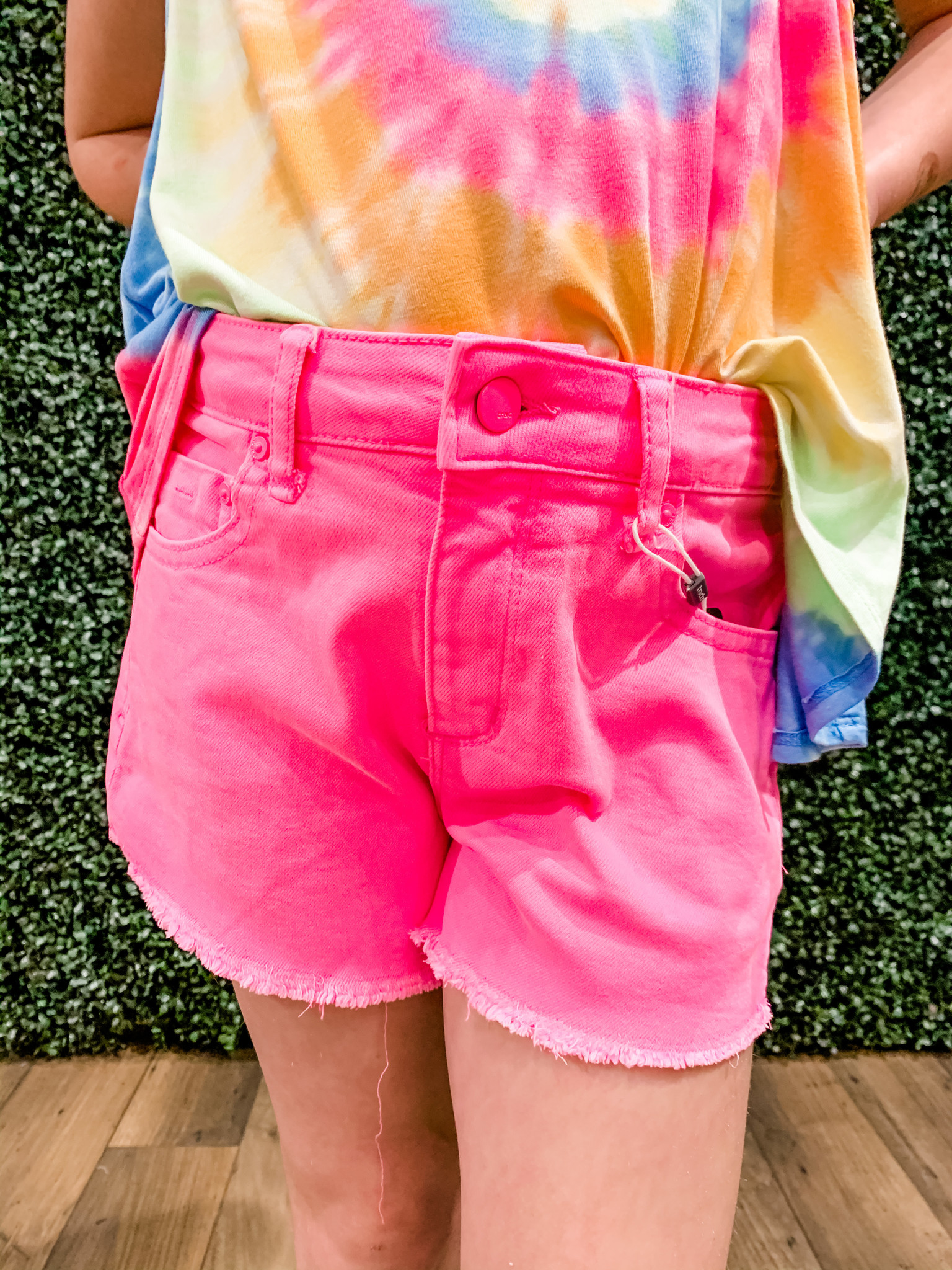 TRACTR Knock Out Denim Short