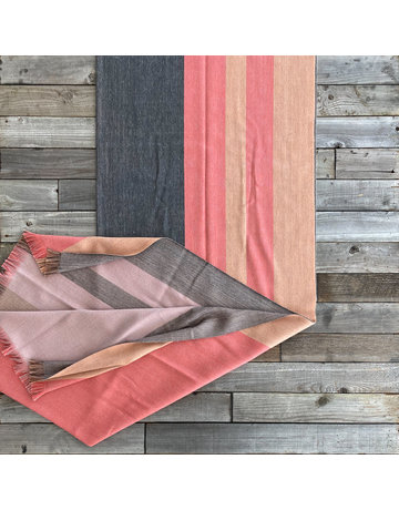 Columbine Home Peach Bloom Throw