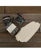 Columbine Home Rescue Foot Cream, Booties & Pumice Scrub Set