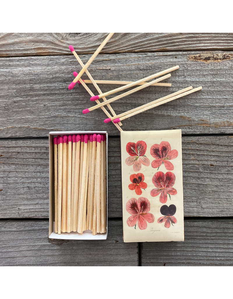 Columbine Home Sangria Pink Plate, Sangria Candle, & Matches Set