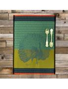 Columbine Home Dishtowel & Salad Server Set, Peon • Moss
