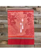 Columbine Home Dishtowel & Salad Server Set, Voyage Cherry • Pink