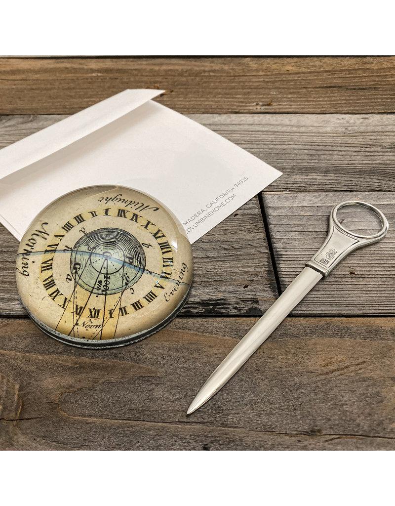 Columbine Home Earth Orbit Paperweight & Letter Opener Set