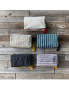 Columbine Home Granada Stripes Night Sea Toiletry Bag