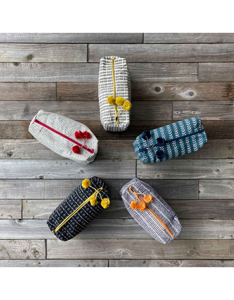 Columbine Home Alice Stripes Toiletry Bag
