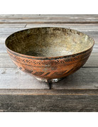 Columbine Home Copper Bowl from Pakistan Vintage